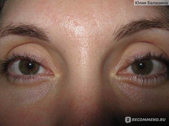 """Лифтинг-гель для кожи вокруг глаз GREEN MAMA от мешков и кругов под глазами """"Черника и гель из семян подорожника"""" фото"""