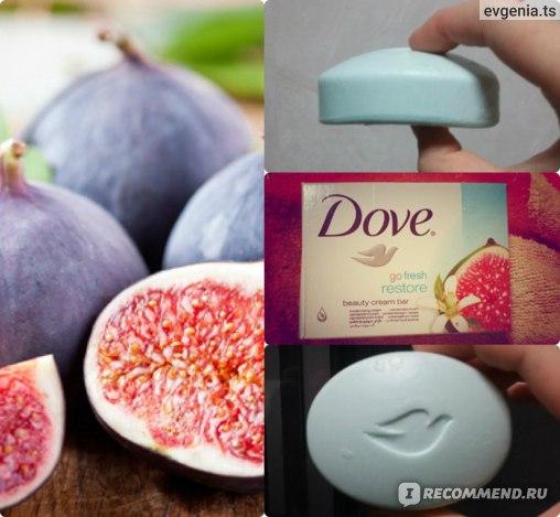 Мыло Dove Инжир и лепестки апельсина фото
