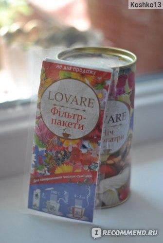Чай  Lovare Ночь Клеопатры фото