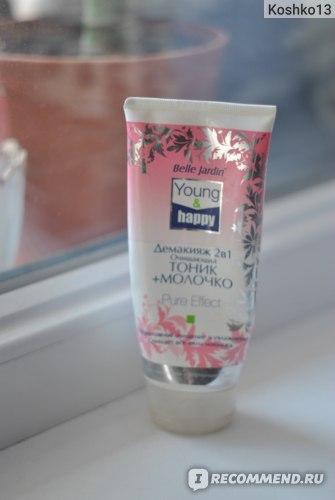 Молочко для снятия макияжа Belle Jardin Демакияж 2в1 фото