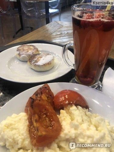 Мой завтрак перед работой.