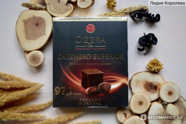 Шоколад O'Zera Carenero Superior фото