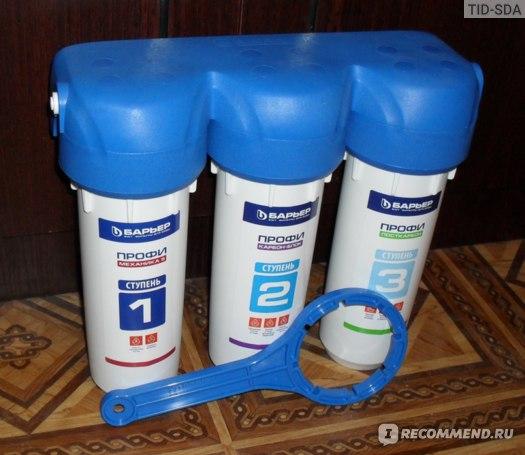 Проточный фильтр для воды Барьер Профи Стандарт фото