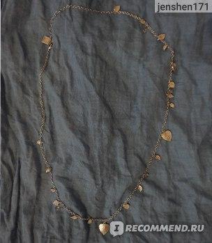 Бижутерия Aliexpress Fashionable Design Top Seller Graceful Vintage Leaf Necklace For Women фото