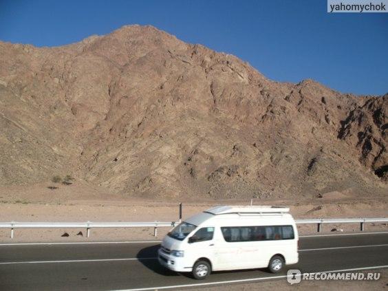 По пути из Шарма в Дахаб