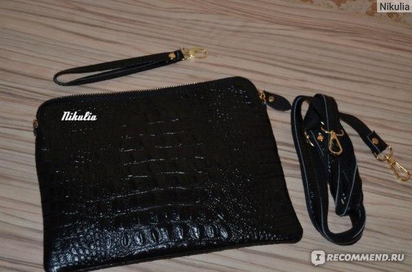 Сумка-клатч Aliexpress New Arrival Bag Fashion Genuine Leather Handbags Women Alligator Clutch Bag Messenger Shoulder Bags Promotion Women Leather Bag фото