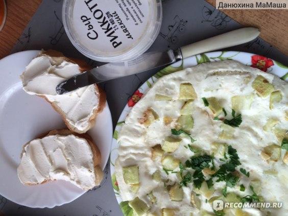 Сыр Рикотта ВкусВилл / Избёнка Мягкий фото