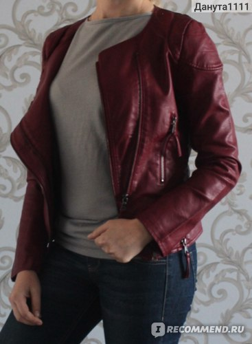 Куртка AliExpress High quality 2014 new Autumn Women's PU Leather Clothing Slim Short Coat Women's Motorcycle Jacket Leather Jacket Real Avatar фото