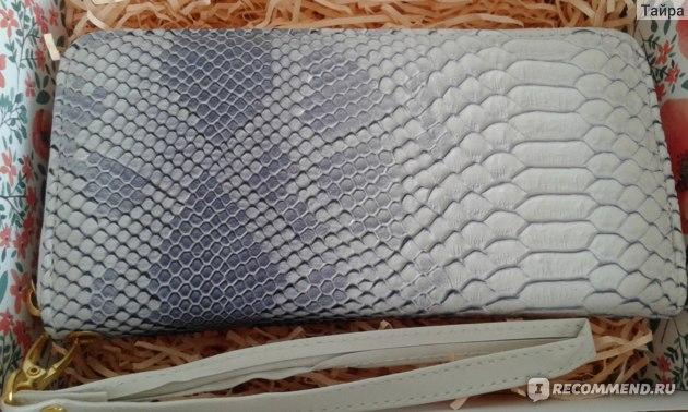 Кошелек ROSCH Luxury Brand Аллигатор Pattern фото