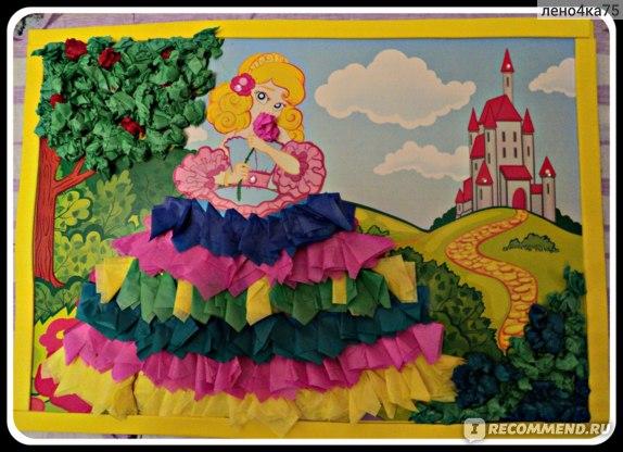 Набор для творчества Апплика Аппликация из разноцветных бумажных шариков арт с1843-05 фото