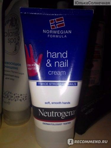 Крем для рук и ногтей Neutrogena® Hand & Nail Cream Care Neutrogena. Twice stronger nails фото