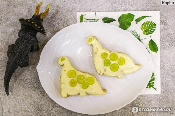 Бутерброды динозаврики