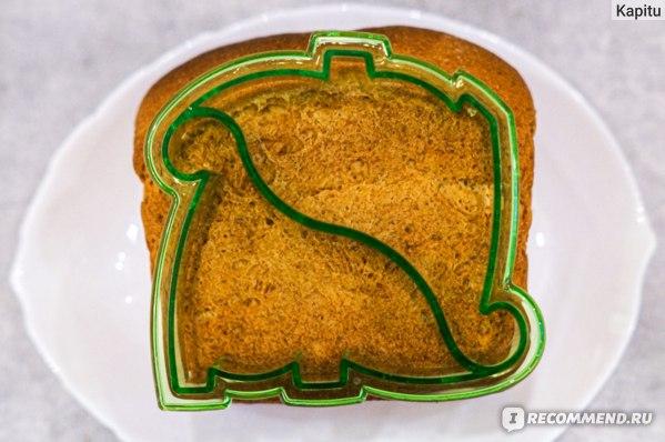 Форма-резак для бутербродов и выпечки Bradex Динозаврики