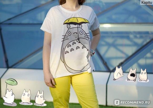 """Футболка City Star oversize """"Totoro"""""""