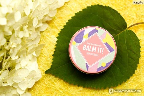 Бальзам BALM IT! Питательный для рук и ногтей  фото