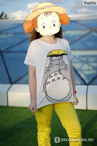 """Футболка City Star oversize """"Totoro"""" фото"""