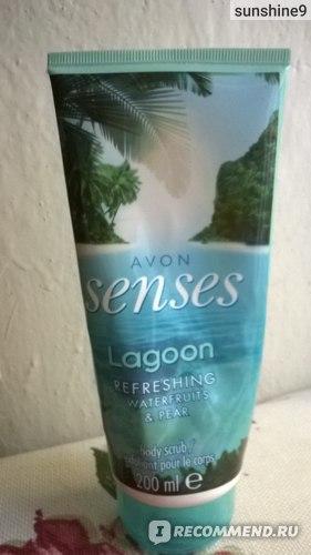 """Скраб для тела Avon SENSES """"Морская лагуна"""" (Lagoon) фото"""