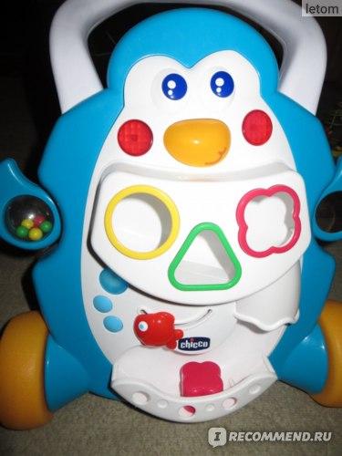 Ходунки Chicco Игровой центр Chicco Пингвин фото