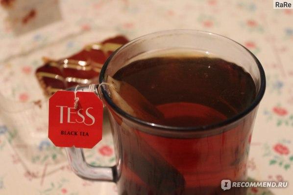 Ароматизированный чёрный чай Tess Thyme фото