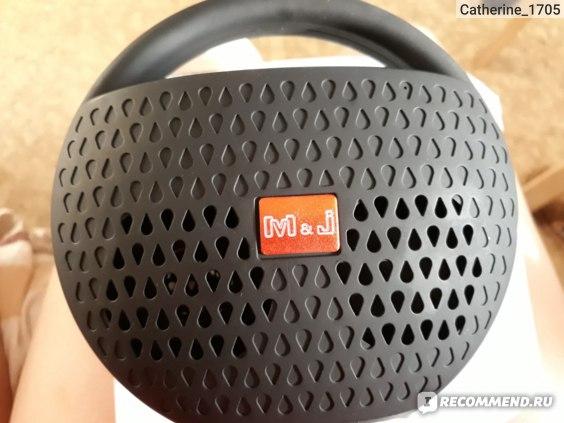 Портативная колонка Aliexpress M&J Wireless Bluetooth Speaker Mini Portable Stereo Music Outdoor Handfree Loudspeaker Support USB TF FM for iPhone Samsung Phones фото