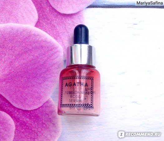 Сыворотка для лица AGATHA FUNTIONNEL Rose serum фото