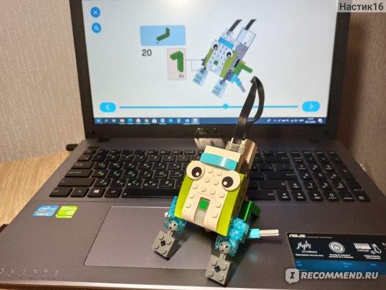 Сборка фигурки Lego «WeDo 2.0»