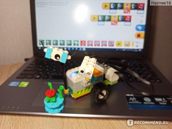 Фигурка из Lego «WeDo 2.0» и программа к ней