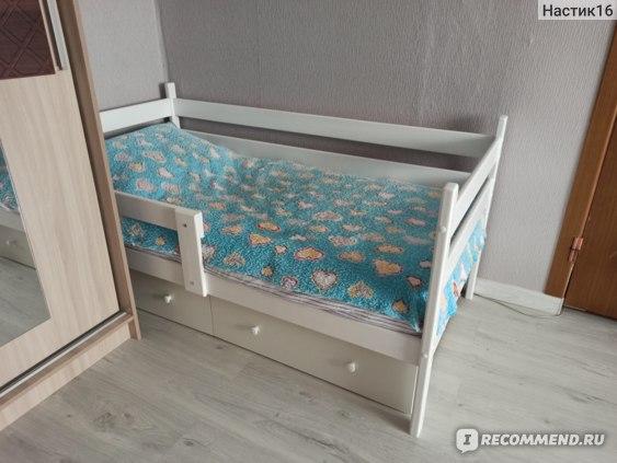 Подростковая кровать Forest kids Viento 160х80 белый отзывы