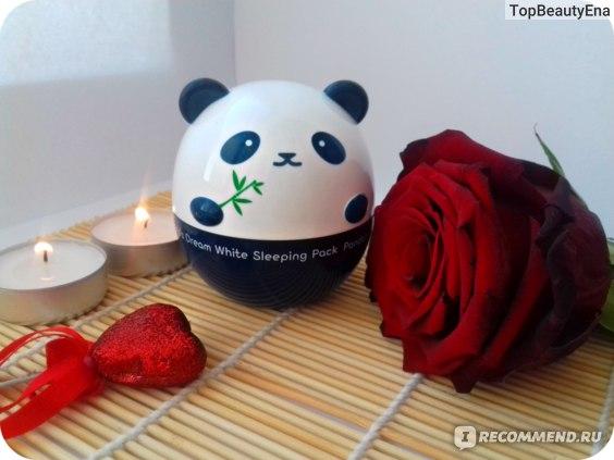 Крем-маска для лица TONY MOLY Panda's Dream White Sleeping Pack фото