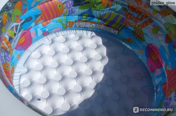 Надувной детский бассейн INTEX  Аквариум малый 152х56 см фото