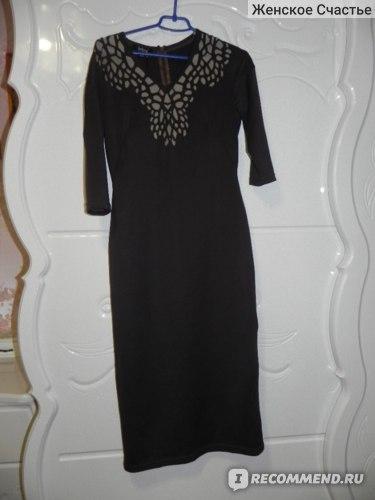 Платье Jadone Fashion Виола (цвет шоколад) фото