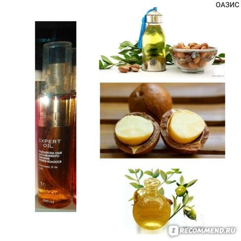 Масло для кончиков волос Hair Trend Total Oil Repair фото