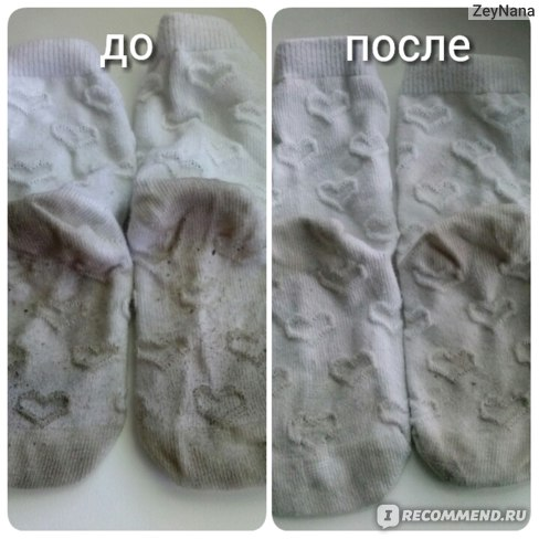 белые носочки, одетые 1 раз дома
