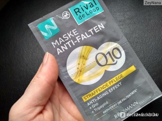 Maske Anti-Falten Q10 Rival de Loop Rossmann