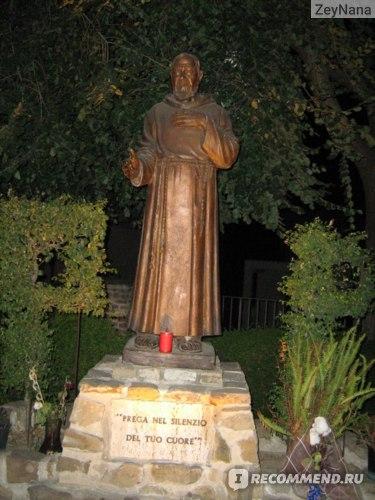 Calabria Italia. Italy. Padre Pio