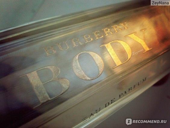 Body Burberry