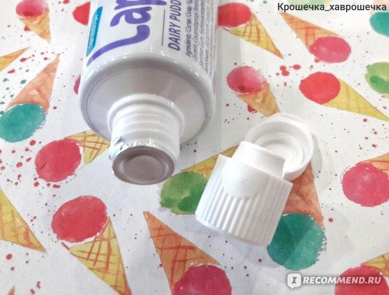 Зубная паста Lapikka с кальцием Молочный пудинг