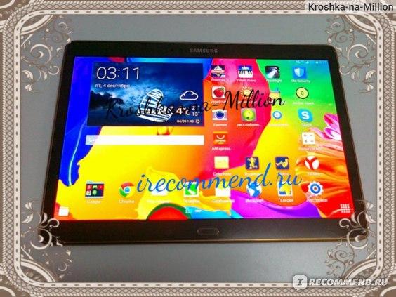 Samsung Galaxy Tab S 10.5 SM-T805 16Gb главый экран