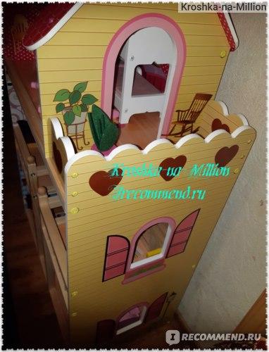 Edufun Дом для кукол с комплектом мебели.  фото