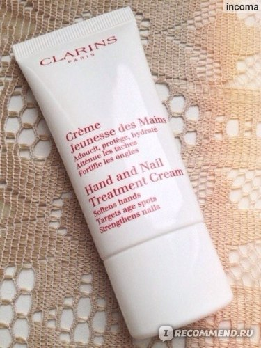 Крем для рук и ногтей Clarins Hand and Nail Treatment Cream фото