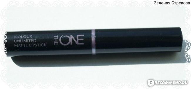 Губная помада Oriflame The One Colour Unlimited True Matte / Матовая фото
