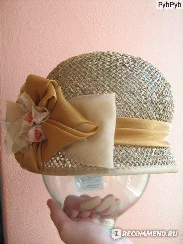Шляпка, которая пришла в посылке.