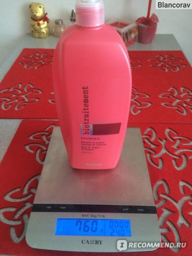 Шампунь для окрашенных волос Brelil bio traitement coulor Shampoo фото