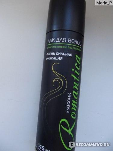 Лак для волос Сибиар Романтика С растительными экстрактами ОБЪЕМ фото