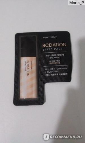 Тональная основа TONY MOLY BCdation SPF 30 PA++ фото