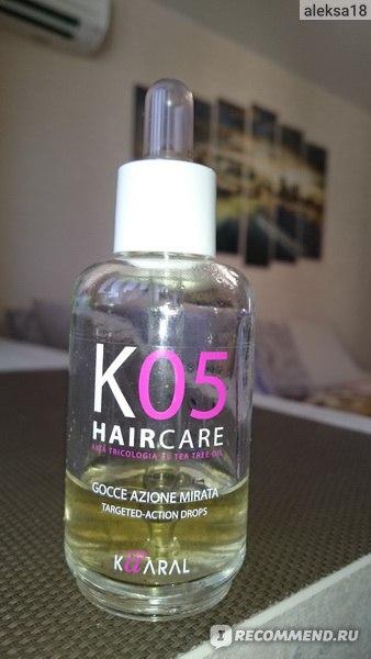 Средство от выпадения волос Kaaral TARGETED-ACTION DROPS - Капли против выпадения волос направленного действия фото
