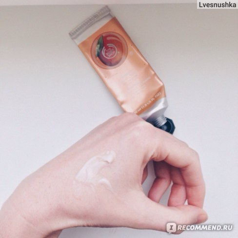 Крем для рук The body shop Манго/Mango Hand Cream фото