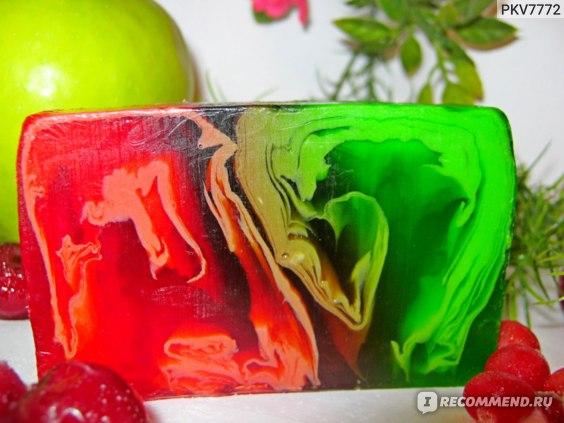 Мыло ручной работы L'Cosmetics Яблоко и гранат фото