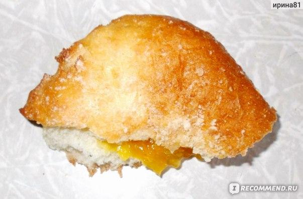 """Сдоба Яхомахлеб """"Гребешок"""" с абрикосовой начинкой фото"""