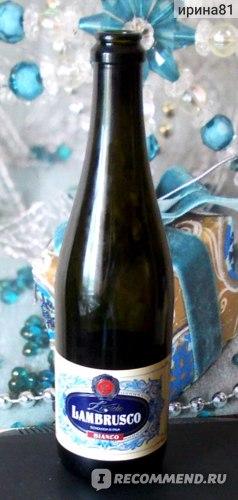 Винный напиток Таманская винная компания-Кубань Lambrusco Bianco Lucido газированный фото